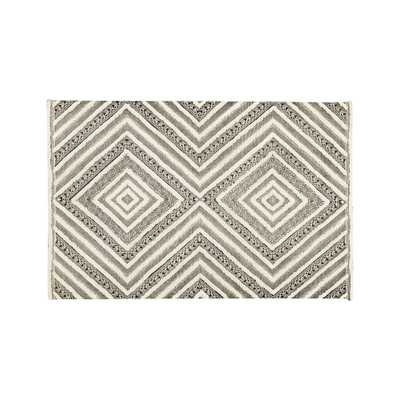 Diamond Neutral Patterned Rug 8'x10' - Crate and Barrel