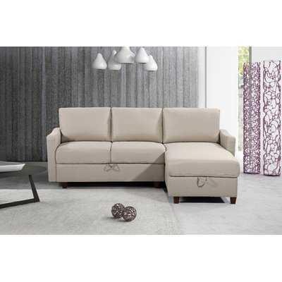 Miers Storage Reversible Sectional - Wayfair