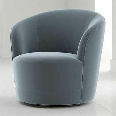 Infiniti Swivel Chair - Crate and Barrel
