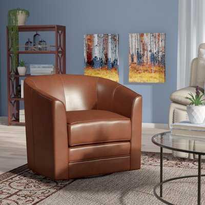 Morefield Swivel Barrel Chair - Wayfair