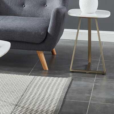 Marble End Table - Wayfair