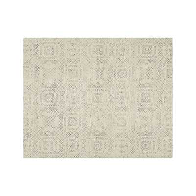 Azulejo Neutral Moroccan Style Rug 8'x10' - Crate and Barrel
