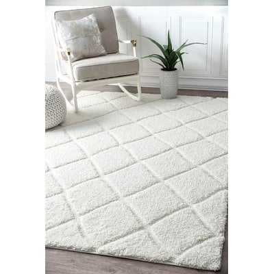 Hermione White Area Rug - Wayfair