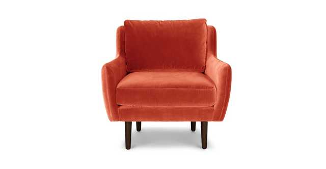 Matrix Persimmon Orange Chair - Article