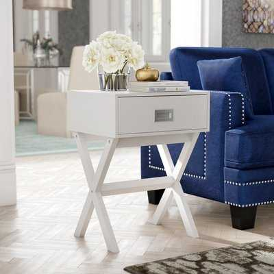 Maison End Table With Storage - Wayfair