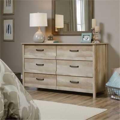 Bowery Hill 6 Drawer Dresser in Lintel Oak - eBay