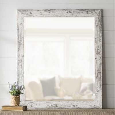 LaGrange Weathered Farmhouse Accent Wall Mirror - Birch Lane