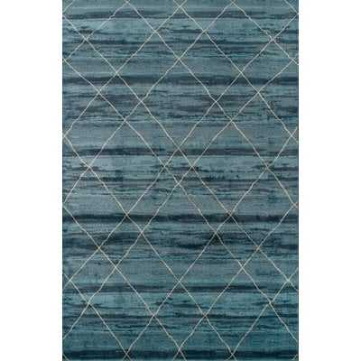 Janise Blue Area Rug - 8'x10' - Wayfair