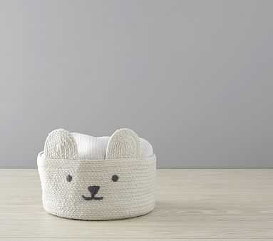 Knit Bear Storage, Small - Pottery Barn Kids