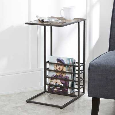 Raze Wood And End Table - Wayfair