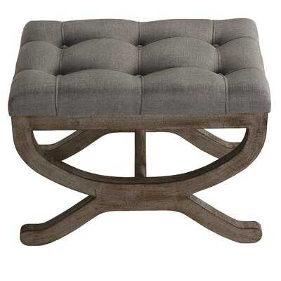 Frierson Tufted Ottoman - Wayfair