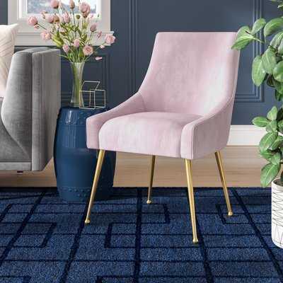 Dusek Velvet Upholstered Side Chair - Wayfair