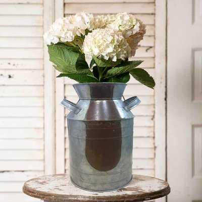 Taranto Rustically Charmed Country Side Table Vase - Wayfair
