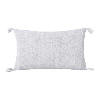 Cherree Reversible Dot Cotton Lumbar Pillow - AllModern
