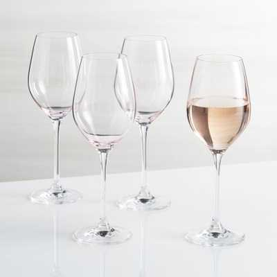 Rose Wine Glass, Set of 4 - Crate and Barrel