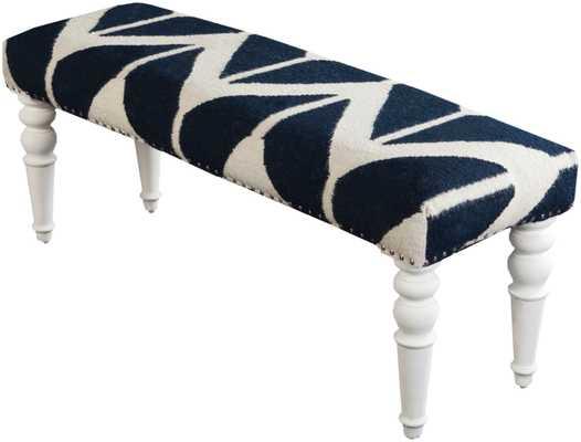 Surya Furniture 47 x 15 x 17 Bench - Neva Home