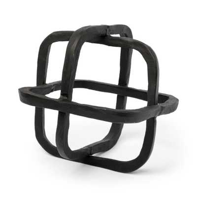 Mercana Willem I (Black) Decorative Object, Matte Black - Home Depot