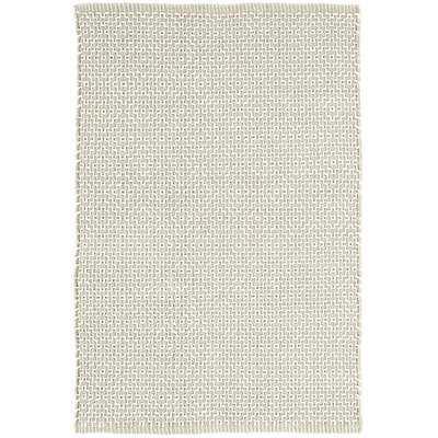 Beatrice Hand-Woven Cotton Gray Area Rug - Wayfair