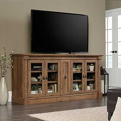 Palladia Collection Vintage Oak Entertainment Credenza - Home Depot
