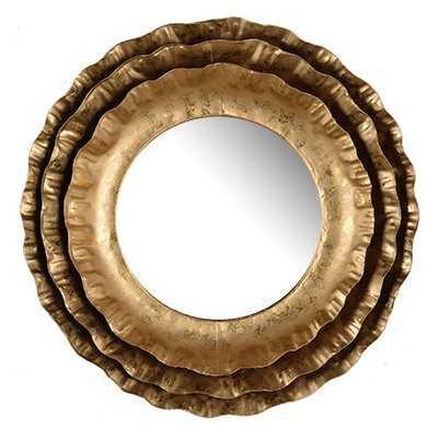 Noemi Round Wall Mirror - Wayfair