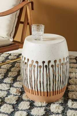 Uteki Ceramic Stool - Anthropologie