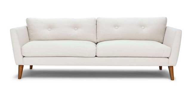 Emil Quartz White Sofa - Article