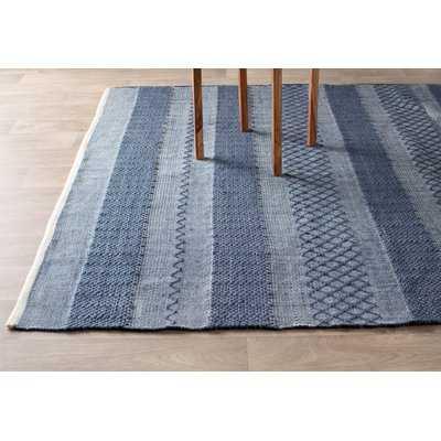 Estate Hand-Woven Blue Indoor/Outdoor Area Rug - AllModern