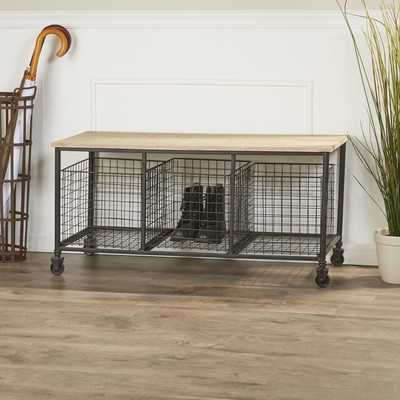 Basilio Storage Bench - Wayfair