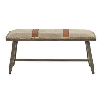 Phippsburg Upholstered Bench - Wayfair