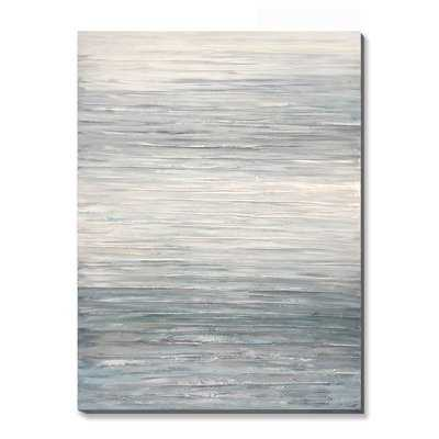 'Distant Horizon Abstract' Graphic Art Print on Canvas - Wayfair