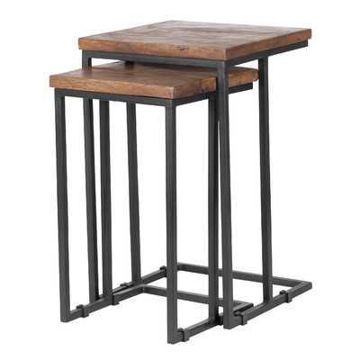 Lineberger 2 Piece Nesting Table Set - Birch Lane
