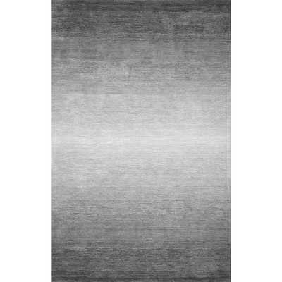 Ombre Bernetta Grey 9 ft. x 12 ft. Area Rug - Home Depot