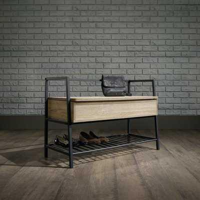 Ermont Wood Storage Bench - AllModern