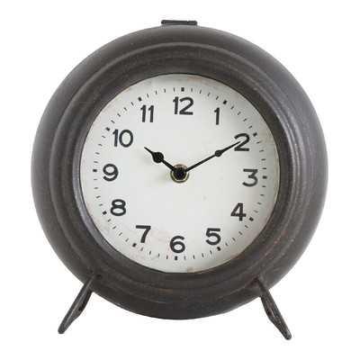 Metal Mantel Clock - Wayfair