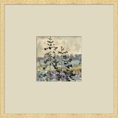 'Vintage Watercolor Landscapes' Framed Print - Wayfair
