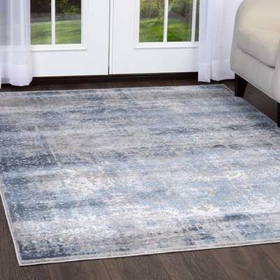 Kenmare Blue Area Rug - Birch Lane