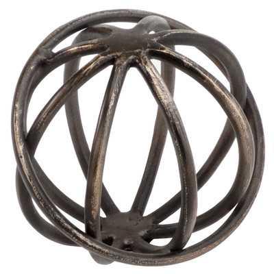 Decorative Giro Sphere Sculpture - Wayfair