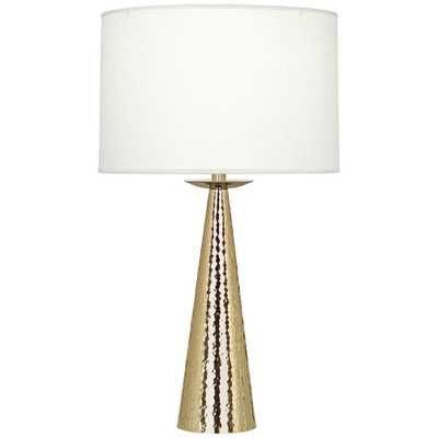 Robert Abbey Dal Modern Brass Table Lamp - Style # 35C40 - Lamps Plus