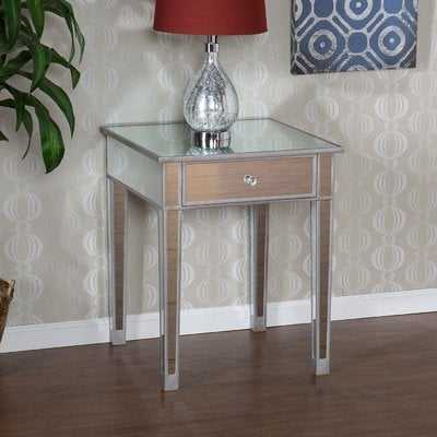 Kylie End Table With Storage - Wayfair
