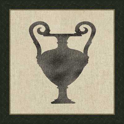 Vase X Framed Graphic Art - Wayfair