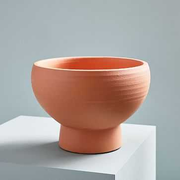 Pure Terracotta Planter, Small - West Elm