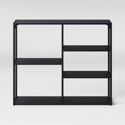 30.25 Glasgow Horizontal Bookcase Black - Project 62 - Target