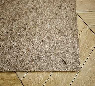 Standard Recycled Fiber Rug Pad, 5x8' - Pottery Barn