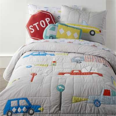 Cars Full/Queen Quilt - Crate and Barrel