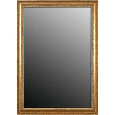 Grecian Beaded Vintage Gold Wall Mirror - Wayfair