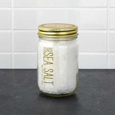 Coarse Sea Salt - Crate and Barrel
