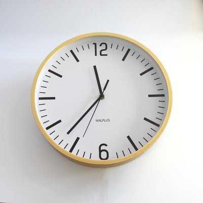 "Hygge Time 10.2"" Wall Clock - Wayfair"