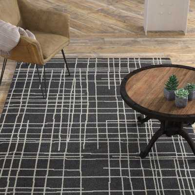Mcmaster Black/White Area Rug - Wayfair