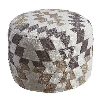 Branden Upholstered Pouf - Birch Lane