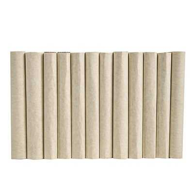 Authentic Decorative Books - By Color Modern Short Cream ColorPak (Wrap) (1 Linear Foot, 10-12 Books) - Wayfair